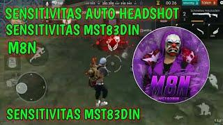 Sensitivitas MST83DIN / M8N !! Auto headshot untuk user shotguns - FREE FIRE INDONESIA